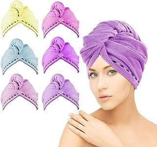 """Pink Color GIANTCLEAN Microfiber Hair Wrap//Hair Towel 19""""x37"""""""
