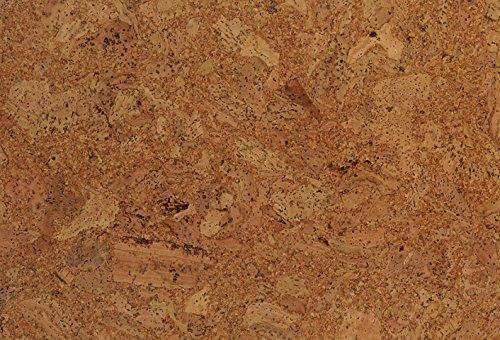 1 Paket (1,95m²) Korkboden zum klicken, Korkboden mit Trittschalldämmung, Korkboden endversiegelt, Korkfertigparkett, Kork-Fußboden, Korkboden verlegefertig, Korkklickboden - Lyra natur