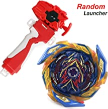 Dwin Bey Battle Evolution Blade Burst Turbo Red String Launcher Grip God Bay B-163 Booster Brave Valkyrie Ev'2A Starter Set Games Accessorie Bey Burst Gaming Top Battling Spinning Top Toy Gift for Boy
