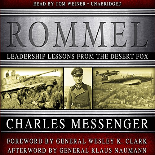 Rommel audiobook cover art