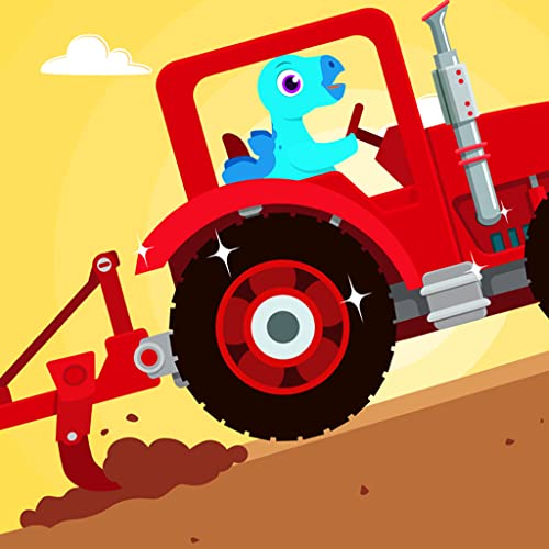 Dinosaur Farm - Tractor Games for kids toddlers