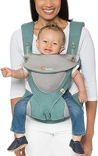Ergobaby 四式360婴儿背带(透气款) All Carry Positions Award-Winning Cool Mesh Ergonomic Baby Carrier, ICY Mint 海外卖家直邮