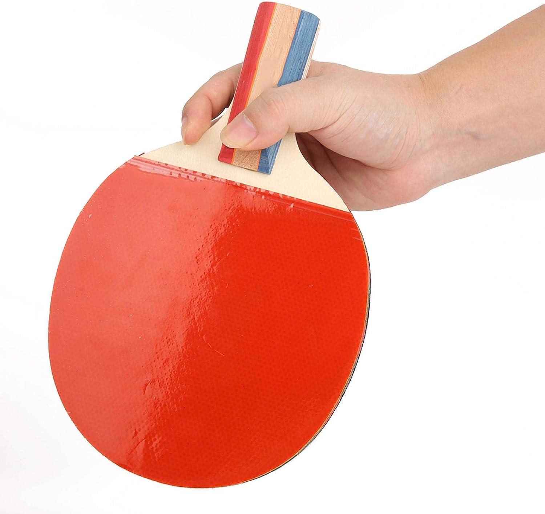Shipenophy Pista de práctica de tenis de mesa de larga vida útil profesional de tenis de mesa, palas de tenis de mesa, elástica, suave para juegos de ocio y juegos de tenis de mesa