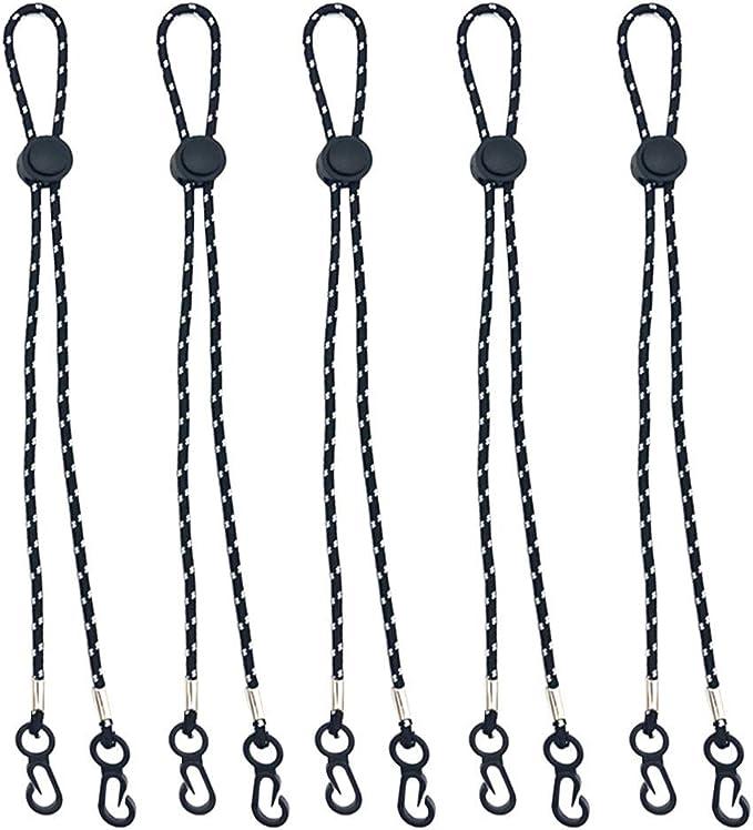 Cuerda Para Colgar Del Cuello Ajustable Cuerda Para Mascarilla CordóN PráCtico Y Conveniente MáScara De Seguridad Resto Y Soporte Para La Oreja Cuerda