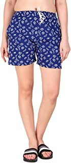 Kiba Retail Casual wear Cotton febric Check Printed Shorts Colored for Women/Girls Size (26, 28, 30, 32, 34) Single