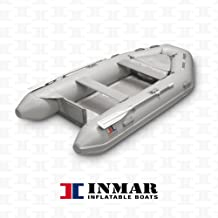 "INMAR 9'0"" Dinghy Tender Inflatable Boat - 270H-TS - 3 Passenger Grey Boat Inflatables"