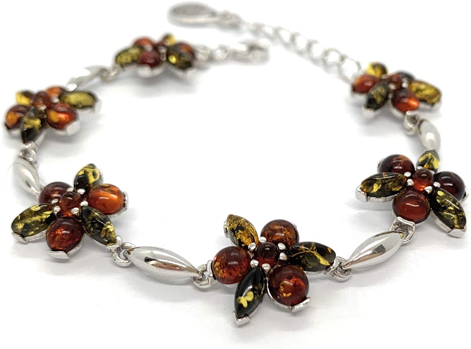 Statement Bracelet with Inserts from Amber. Desig Baltic Finally popular Max 49% OFF brand Genuine
