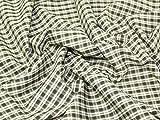 Baumwolle Tartan Check Kleid Stoff