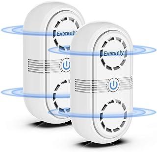 comprar comparacion Everenty Repelente Ultrasónico de Plagas 2020 Nueva Versión Plagas Control Interiores Ahuyentador de Ratones ultrasonido...