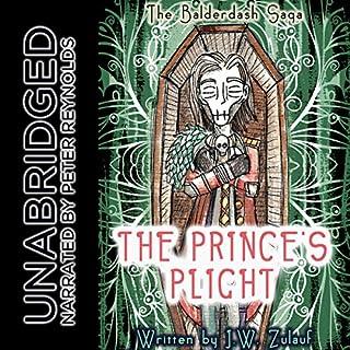 The Balderdash Saga: The Prince's Plight audiobook cover art