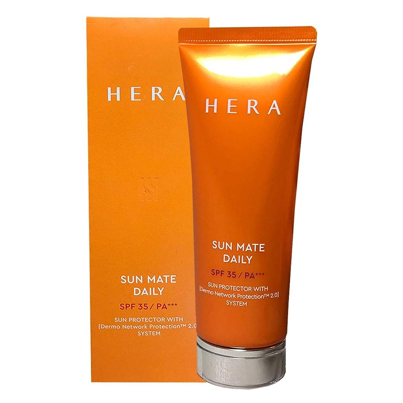 有名年次銀行ヘラ サンメイト デイリー SPF35PA+++メイクアップベース日焼け止めクリーム/SUN MATE DAILY UVCream