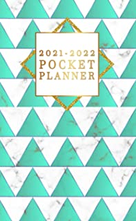 2021-2022 Pocket Planner: Two-Year Monthly Organizer & Schedule Agenda - 2 Year Diary & Calendar with To-Do's, Phone Book,...