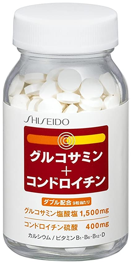 全員湿原関与する資生堂 グルコサミン + コンドロイチン 270粒