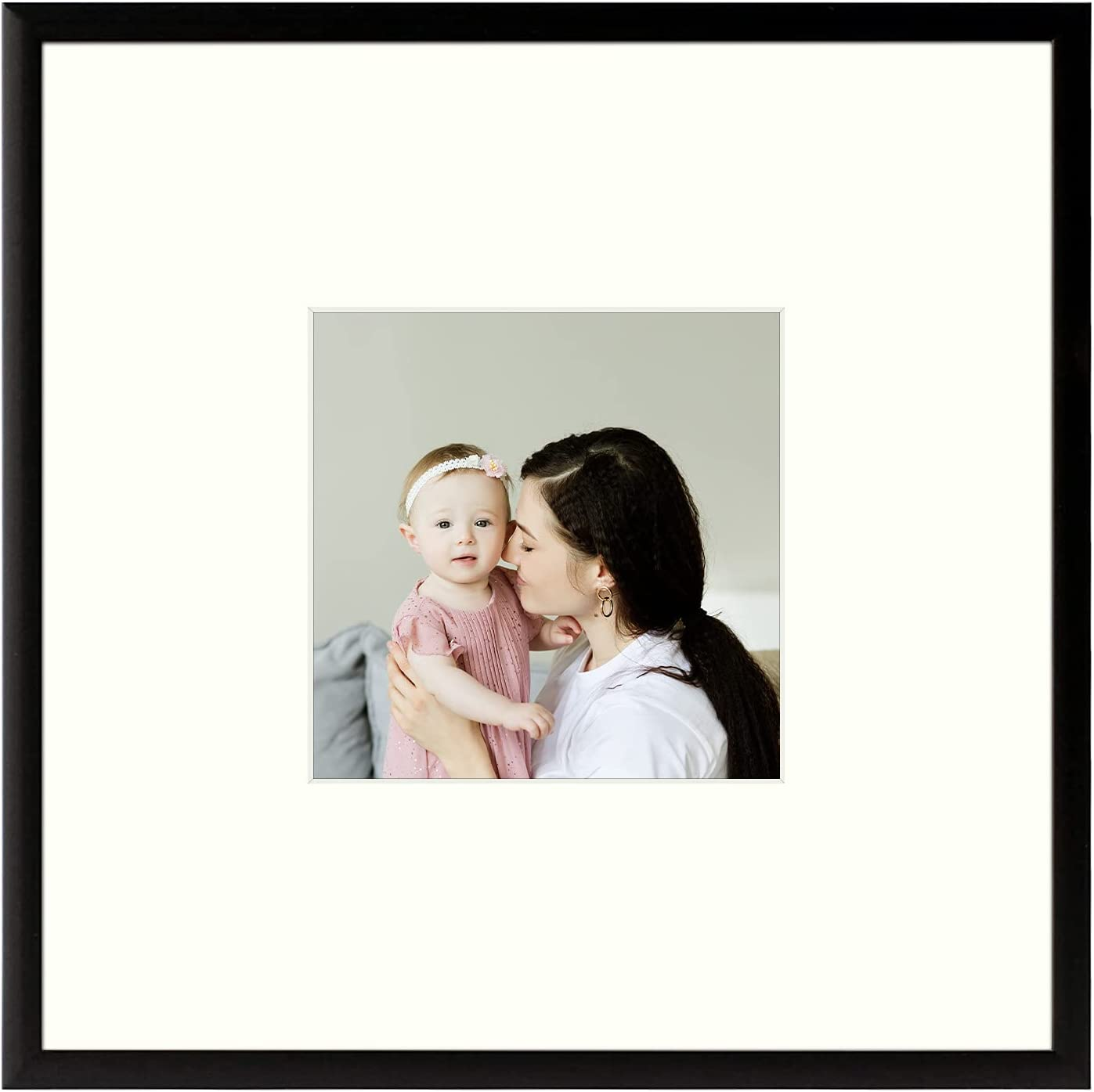 Golden State Art, Metal Wall Photo Frame Collection, Aluminum Bl