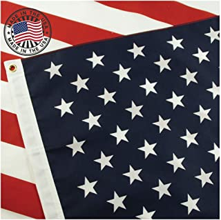 American Flag: 100% Made in USA Certified by Grace Alley. 3×5 Ft US Flag Strong,..