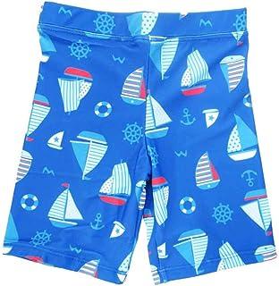 スイムパンツ 子供用 マリーン柄 水着 キッズ水着 海水パンツ UVブロック 男の子 100cm~130cm 入園 入学