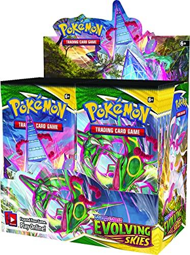 Pokémon TCG: Sword & Shield Evolving Skies Booster Box