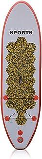 Fklee Tablero de Remo Inflable Sup de 116 Pulgadas con Paleta, Bolsa de Transporte, Kit de reparación y Bomba for Flotar en el río Tabla de Surf (Color : Naranja, tamaño : 295x76x15cm)