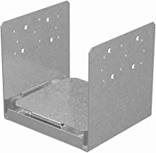Simpson Strong Tie ABU88Z 8-Inch by 8-Inch Standoff Post Base with ZMAX Coating