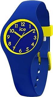 Ice-Watch - Ice Ola Kids Rocket - Montre Bleue pour Garçon avec Bracelet en Silicone - 015350 (Extra Small)