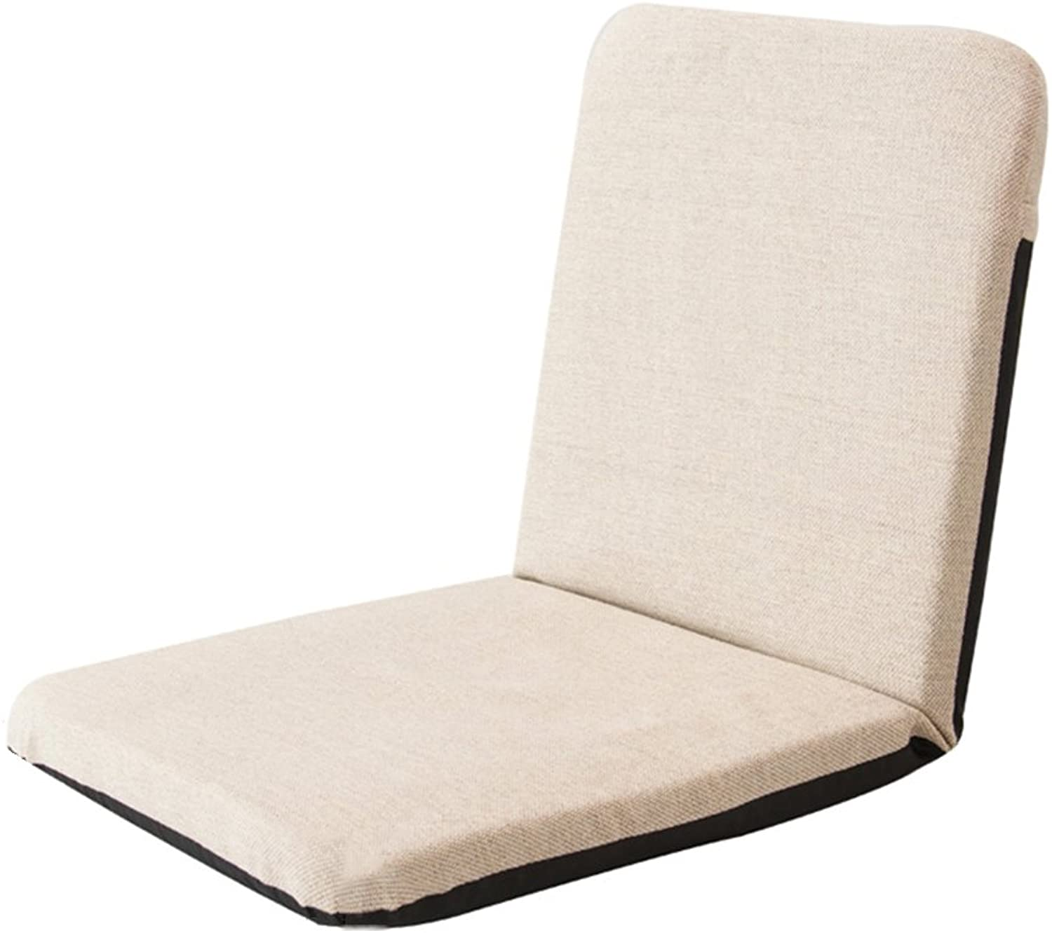 LVZAIXI Lazy Couch Lazy Couch, Bedroom Couch, Modern Minimalist, Single Sofa (color   Beige)