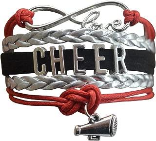 Infinity Collection Cheer Bracelet- Cheerleading Bracelet- Cheer Jewelry for Cheerleader