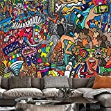 Psychedelischer Wandteppich Mandala Spitze Hippie Kunst Wandbehang Wandteppich Wohnzimmer Zuhause Schlafsaal Dekoration A5 130x150cm