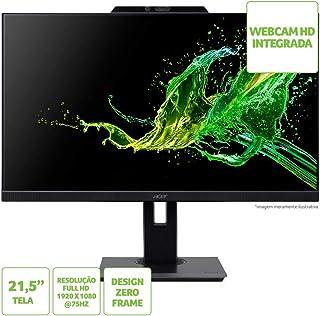 Monitor Acer 21.5H B227Q FHD 75Hz VGA/HDMI/DP Webcam HD