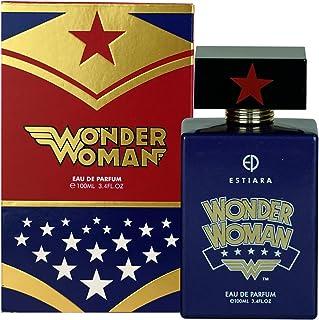 Estiara Wonder Woman Perfume For Kids Eau De Parfum 100ml Sweet Floral Fruity Musky Fragrance For Her - Warner Brothers