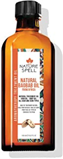 Nature Spell Baobab Treatment Oil For Hair & Body 150ml / 5.07 FL OZ