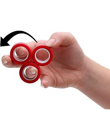 Fidget Spinner dito Glow Glitter messa a fuoco a mano metallo acciaio EDC CUSCINETTO Stress Giocattolo