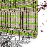 Persiana Enrollable De Bambú Persiana Enrollable Persiana Romana De Bambú Persianas Enrollables Persianas Enrollables De Madera - Persianas Enrollables Plástico PE A La Ventana Decoración del Balcón