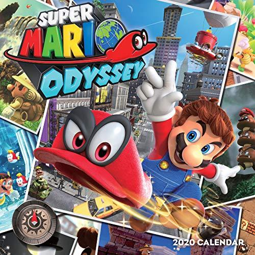 Super Mario Odyssey 2020 Calendar