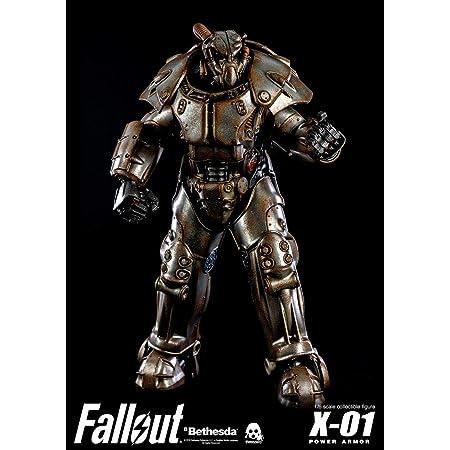 ThreeZero Fallout: X-01 Power Armor 1:6スケール コレクションフィギュア マルチカラー