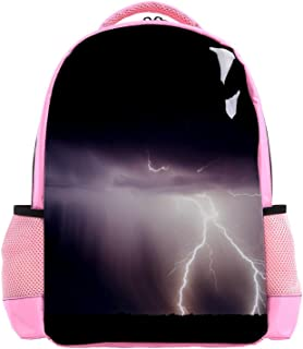 Sweet Little Bulldog Backpack Kids School Book Bags for Elementary Primary Schooler