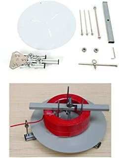 WUPYI Cable Spool Reel Dispenser,Electrical Cable Reel Drum Holder and De-Reeling Dispenser Stand Roller