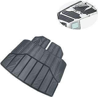 Lantsun 4X Hardtop Sound Deadener Headliner Hinges Heat Insulation Insulation for 4-Door Jeep Wrangler JK 12-16(J180)