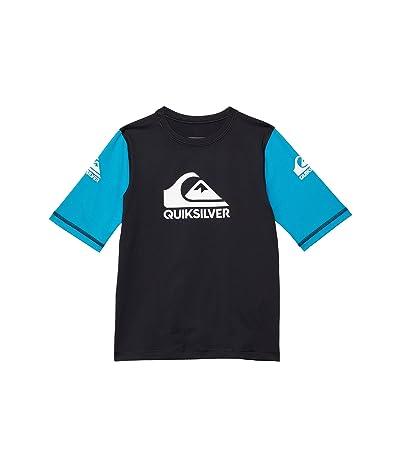 Quiksilver Kids Heats On Short Sleeve Rashguard (Toddler/Little Kids)