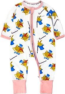 XINXINHAIHE Toddlers Baby Cute Panda Printed Romper Sleepwear Bodysuit Footies