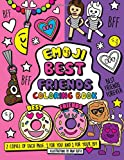 Emoji Best Friends Coloring Book: A Coloring Book for Two! Two Copies of each page, share and color with your BFF.