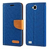 Huawei Honor 3C 4G Case, Oxford Leather Wallet Case with