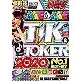 洋楽 DVD 神級パーティーベスト 超最新 ギガ盛り 4枚組 全曲フルPV 162曲 Age↑ Age↑ Tik & Toker 2020 - DJ Beat Controls 4DVD 最新流行 アゲアゲ TikTok パーティー