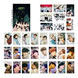 Youyouchard Kpop GOT7 Ablum Geschenk: You & Miracle Fotokarten-Poster Lomo Karten Selbstgemachtes...