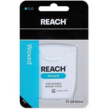REACH デンタルフロス ワックス・ノンフレーバー