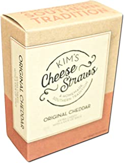 Kim's Cheese Straws 3.5 oz - 4 Pack (Original Cheddar)