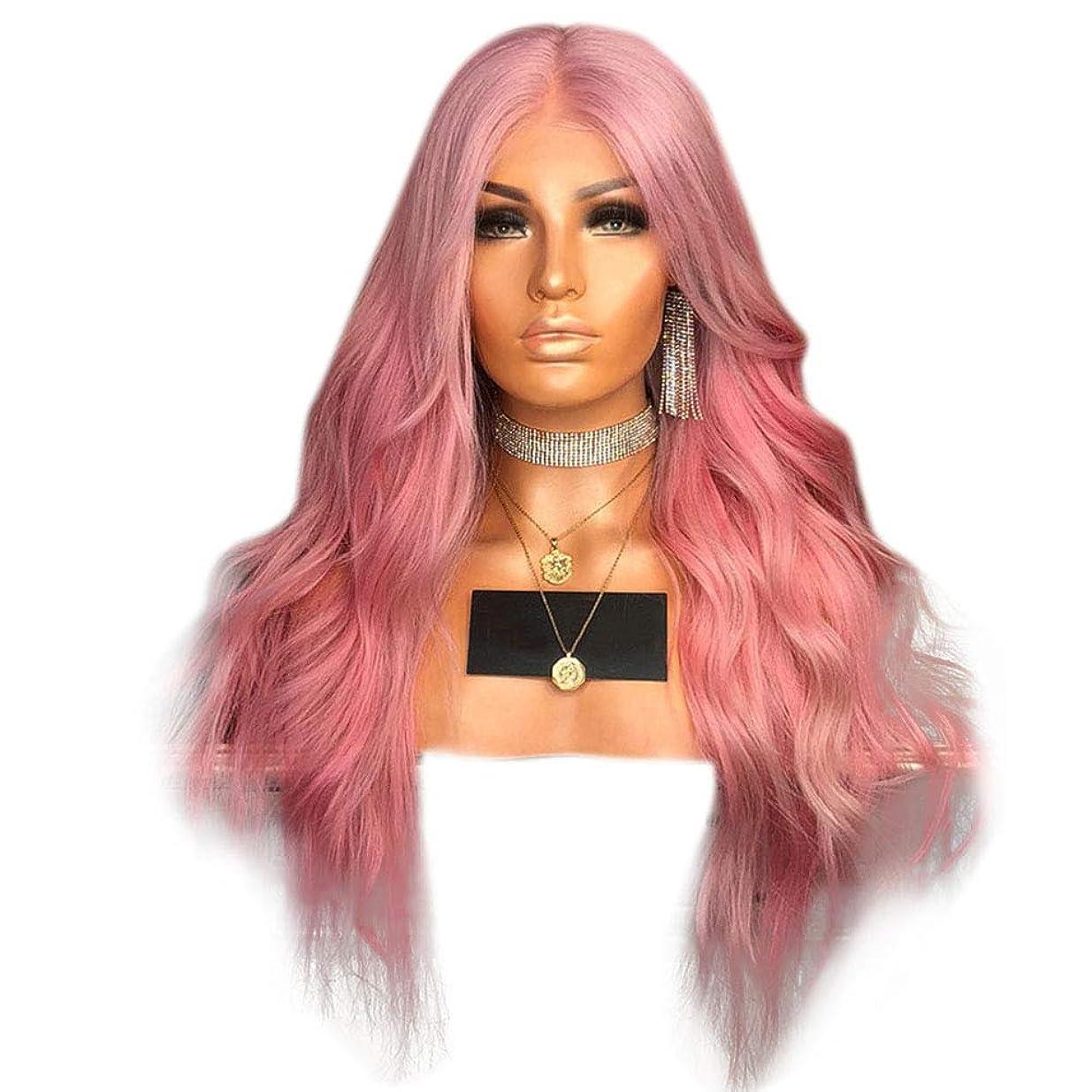 いとこみ富豪Isikawan ヨーロッパとアメリカの女性の長い髪のグラデーション染色かつらマイクロヘアカーリング髪 (色 : Photo Color, サイズ : 65cm)