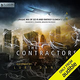 Contractor audiobook cover art