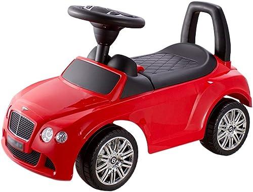 Kids Car Rutschauto Kinder drehen Auto-Baby-Roller-Vierrad mit Musik-Spielzeugauto-Yo-Auto-Wanderer FANJIANI