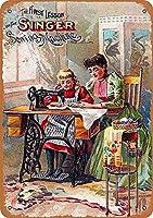 Singer Sewing Machines ティンサイン ポスター ン サイン プレート ブリキ看板 ホーム バーために