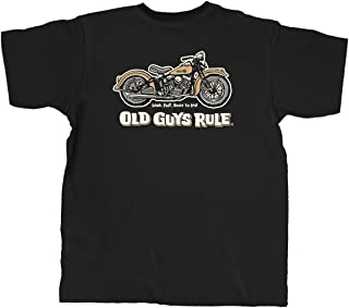 T Shirt for Men | Panhead | Cool, Funny Graphic Tee for Dad, Husband, Grandfather Gift | Black